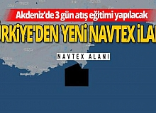 Son dakika! Türkiye'den yeni Navtex ilanı!