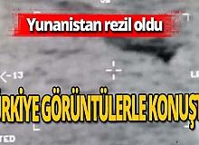 Son dakika! Yunanistan'ın iddiası çürütüldü! Türkiye görüntülerle yanıt verdi!