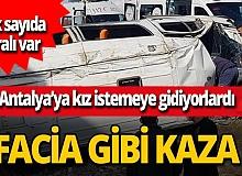 Son dakika...Konya'da minibüs devrildi! Çok sayıda yaralı var