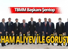 TBMM Başkanı'ndan Azerbaycan Cumhurbaşkanı'na ziyaret