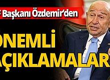 TFF Başkanı Nihat Özdemir'den yayıncı kuruluş ve seyirci açıklaması