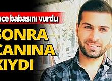 Tunceli'de acı olay! Babasını öldürüp intihar etti