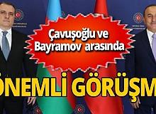 Türkiye ile Azerbaycan arasında önemli görüşme
