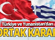 Türkiye ve Yunanistan NAVTEX'leri iptal etti