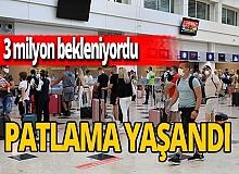 Veriler açıklandı! Antalya, 3 milyon turist seviyesine ulaştı