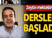 Zeytin Mektebi'nde eğitim başladı