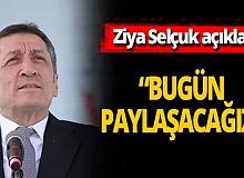 """Ziya Selçuk duyurdu: """"Türkiye pandemide eğitim hizmeti verebilen3-4 ülkeden biri"""""""