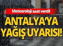 20 Kasım 2020 Antalya'da hava durumu!