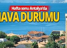 21 Kasım 2020 Antalya'da hava durumu!