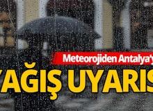 30 Kasım 2020 Antalya'da hava durumu