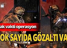 Adana'da şafak operasyonu! Çok sayıda gözaltı var