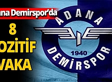 Adana Demirspor'da koronavirüs şoku