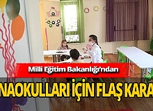 Anaokulları kapanacak mı? Ankara'dan yeni haber geldi!