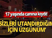 Ankara'da 17 yaşındaki Gülnur Y. tüfekle başından vurulmuş halde cansız bedeni bulundu