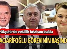 Antalya Büyükşehir Belediyesi'ndeki yetki krizi son buldu