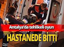 Antalya'da 7 yaşındaki Gülbahar Kudak vinçten düştü