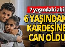 Antalya'da 7 yaşındaki Miraç 6 yaşındaki kardeşine hayat verdi
