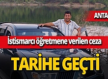 Antalya'da istismarcı öğretmen Mahmut Aydın Köksar'a 621 yıl ceza!