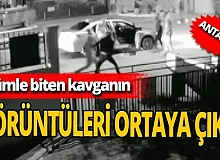 Antalya'da ölümle biten kavganın görüntüleri ortaya çıktı