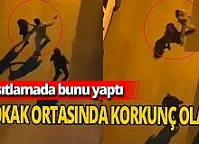 Antalya'da sokağa çıkma kısıtlamasında 2 kadını tokatladı