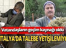Antalya'da talep patlaması yaşanıyor! Koronavirüs sonrası kekik yağı vatandaşların geçim kaynağı oldu