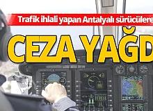 Antalya'da trafik denetimleri arttı!