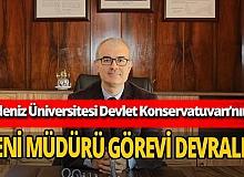 Antalya Devlet Konservatuvarı Müdürü Prof. Dr. Attila Kadri Şendil oldu