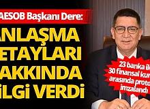 Antalya ESOB 23 banka ile  30 finansal kuruluş arasında protokol imzalandı