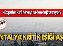 Antalya kritik eşiği aştı!