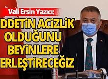 Antalya Valisi Ersin Yazıcı, kadına yönelik şiddetle mücadele toplantısına katıldı