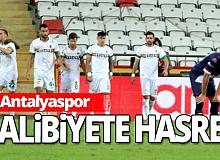 Antalyaspor 6 haftadır galibiyet yüzü görmedi