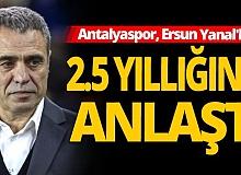 Antalyaspor'da Yanal dönemi