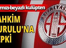 Antalyaspor'dan TFF Tahkim Kuruluna tepki!