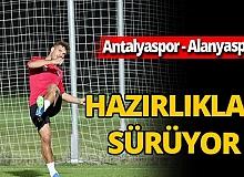 Antalyaspor günü çift idmanla tamamladı