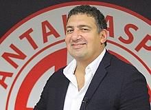 """Antalyaspor Kulübü Başkanı Ali Şafak Öztürk: """"Kazanmaya oynayacağız"""""""