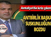 ANTBİRLİK Başkanı Mustafa Yavuz'dan çarpıcı açıklamalar