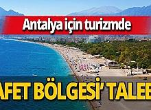 ATSO turizm raporu hazırladı! Antalya'nın 'afet bölgesi' ilan edilmesi talep edildi