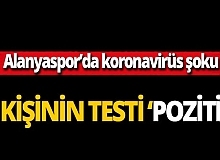 Aytemiz Alanyaspor'da 3 kişi koronavirüse yakalandı