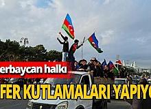 Azerbaycan'da zafer kutlamaları devam ediyor