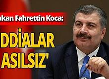 Bakan Fahrettin Koca SMA hastalığı ile ilgili çıkan iddialara cevap verdi
