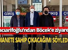 Antalya son dakika... Başkan Vekili Hacıarifoğlu'ndan Başkan Böcek'e ziyaret