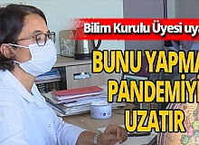 Bilim Kurulu Üyesi Prof. Dr. Serap Şimşek Yavuz'dan önemli uyarı!