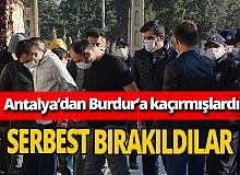 Bir kişi Antalya'dan Burdur'a kaçırıldı! Şüpheliler serbest bırakıldı
