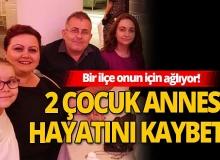 Bursa'da bir ilçe onun için ağlıyor!