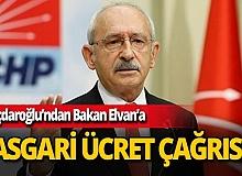"""CHP lideri Kemal Kılıçdaroğlu: """"Asgari ücretin vergi dışında tutulması gerekiyor"""""""