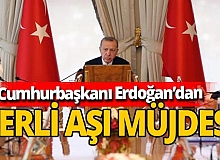 Cumhurbaşkanı Erdoğan'dan dünyaya aşı mesajı: Tüm insanlığın hizmetine sunacağız