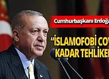 Cumhurbaşkanı Erdoğan'dan 'İslamofobi' göndermesi