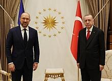 Cumhurbaşkanı Erdoğan  Ukrayna Başbakanı Shmyhal'ı kabul etti