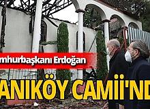 Cumhurbaşkanı Erdoğan, Vaniköy Camii'nde