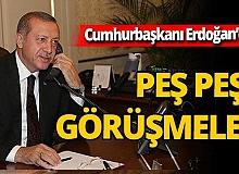 Cumhurbaşkanı Recep Tayyip Erdoğan Haiti Cumhurbaşkanı Jovenel Moise ile görüştü